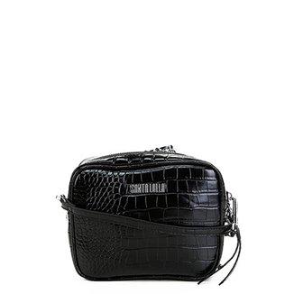 43c155589 Mochila Infantil Xeryus Alice Aventureira Com Rodinhas Feminina · Confira ·  Bolsa Santa Lolla Mini Bag Croco Feminina