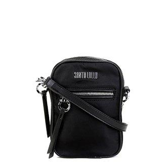 9d0bcec00 Bolsa Santa Lolla Shoulder Bag Alça Larga Transversal Feminina
