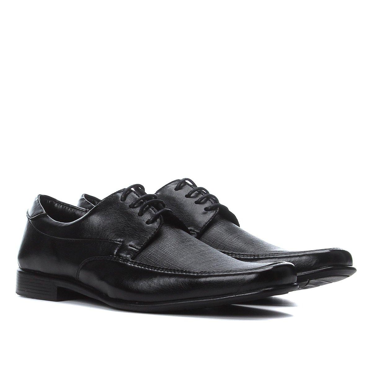Sapato Social Couro Walkabout Básico Masculino