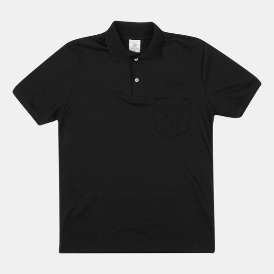 640e799d4 Camisa Polo Tigs Piquet Lisa Bolso Masculina - Compre Agora