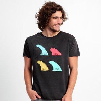 7f806a37b Camiseta Wöllner Lavada Dupla Face