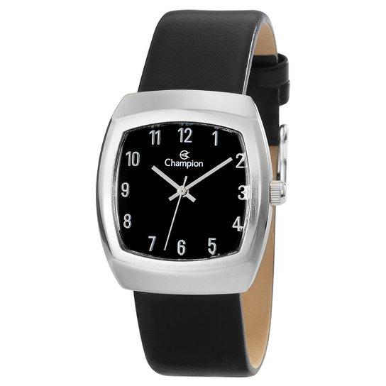 ad62ce14270 Relógio Champion Analógico CH28951T Feminino - Preto - Compre Agora ...