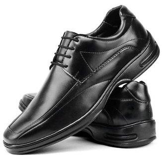 f51e574b1 Sapato Social SapatoFran Ortopédico Masculino