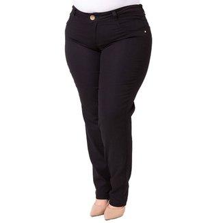 2c69bd565 Calça Confidencial Extra Plus Size Jeans Básica Feminina