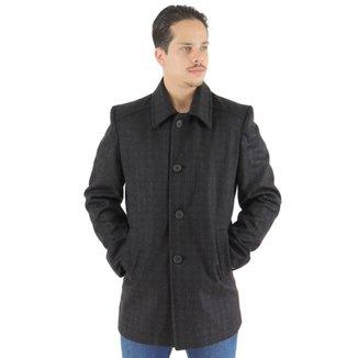 Sobretudo Masculino Moscow em Lã Premium faf52eb9051