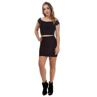fceb3417e1 Saias Femininas - Ótimos Preços
