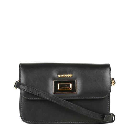 352ed2087 Bolsa Couro Verofatto Mini Bag Transversal Feminina   Zattini