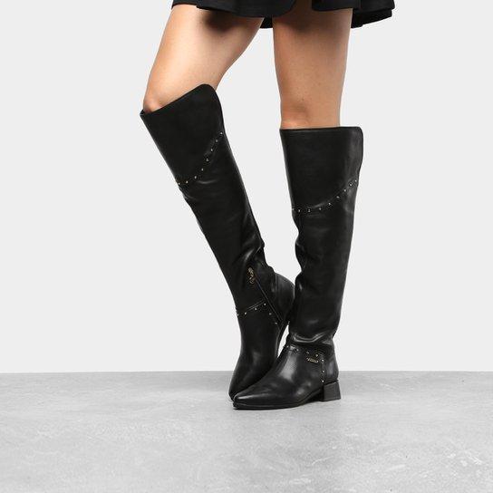 befdd2024 Bota Over The Knee Verofatto Tricot Feminina - Compre Agora