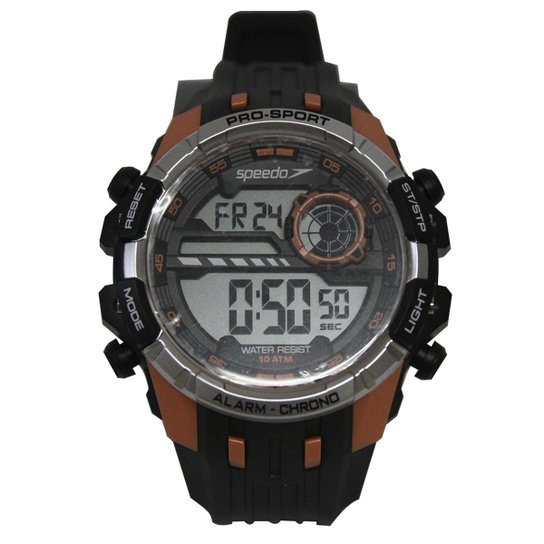 15eb1d96f0f Relógio Masculino Speedo 80613G0evnp2 - Preto - Compre Agora