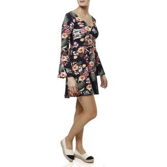 Vestido Curto La Gata Feminino 103aa4b322