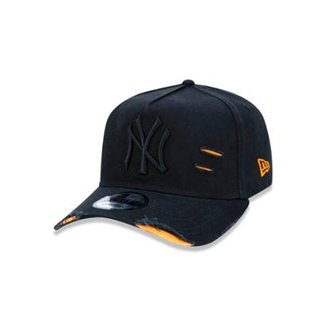be619a174 Boné 940 New York Yankees MLB Aba Curva New Era