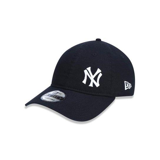 Boné 940 New York Yankees MLB Aba Curva Strapback New Era - Compre ... 3c751e70945
