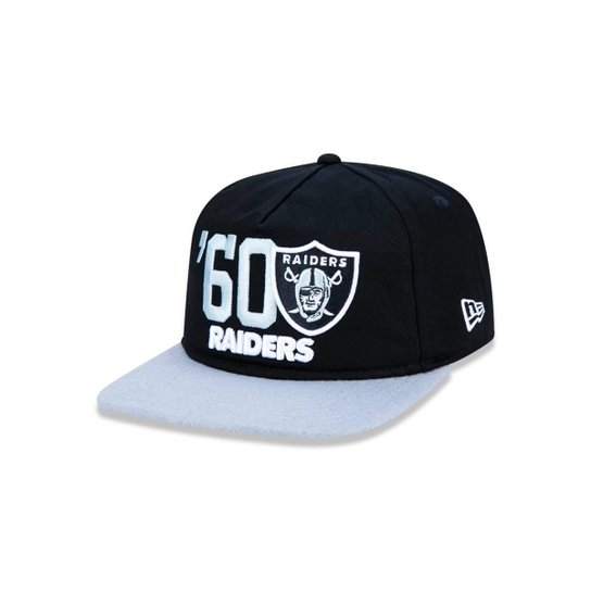 Boné 950 Original Fit Oakland Raiders NFL Aba Reta Snapback New Era - Preto 5a4fa6e144b