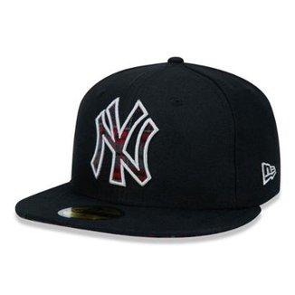 Boné 5950 New York Yankees MLB Aba Reta New Era 73438632c25
