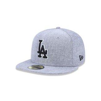 a309c966847b4 Boné 5950 Los Angeles Dodgers MLB Aba Reta New Era