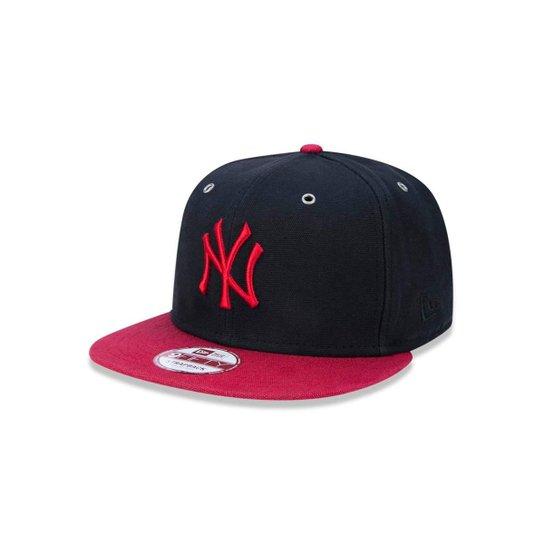 2a8cf82c9 Boné 950 New York Yankees MLB Aba Reta New Era - Preto - Compre ...