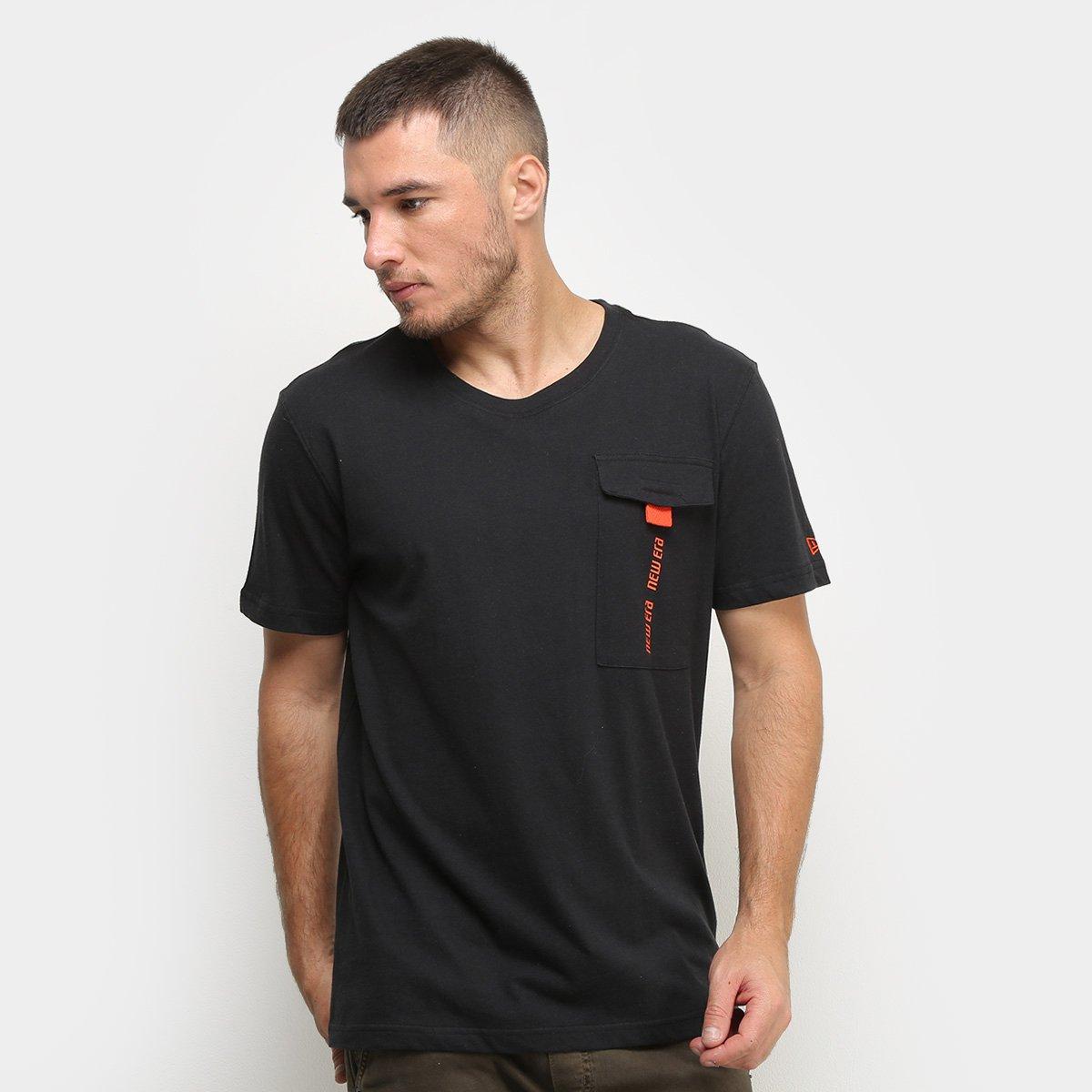 Camiseta New Era Utilitary Pocket Masculina