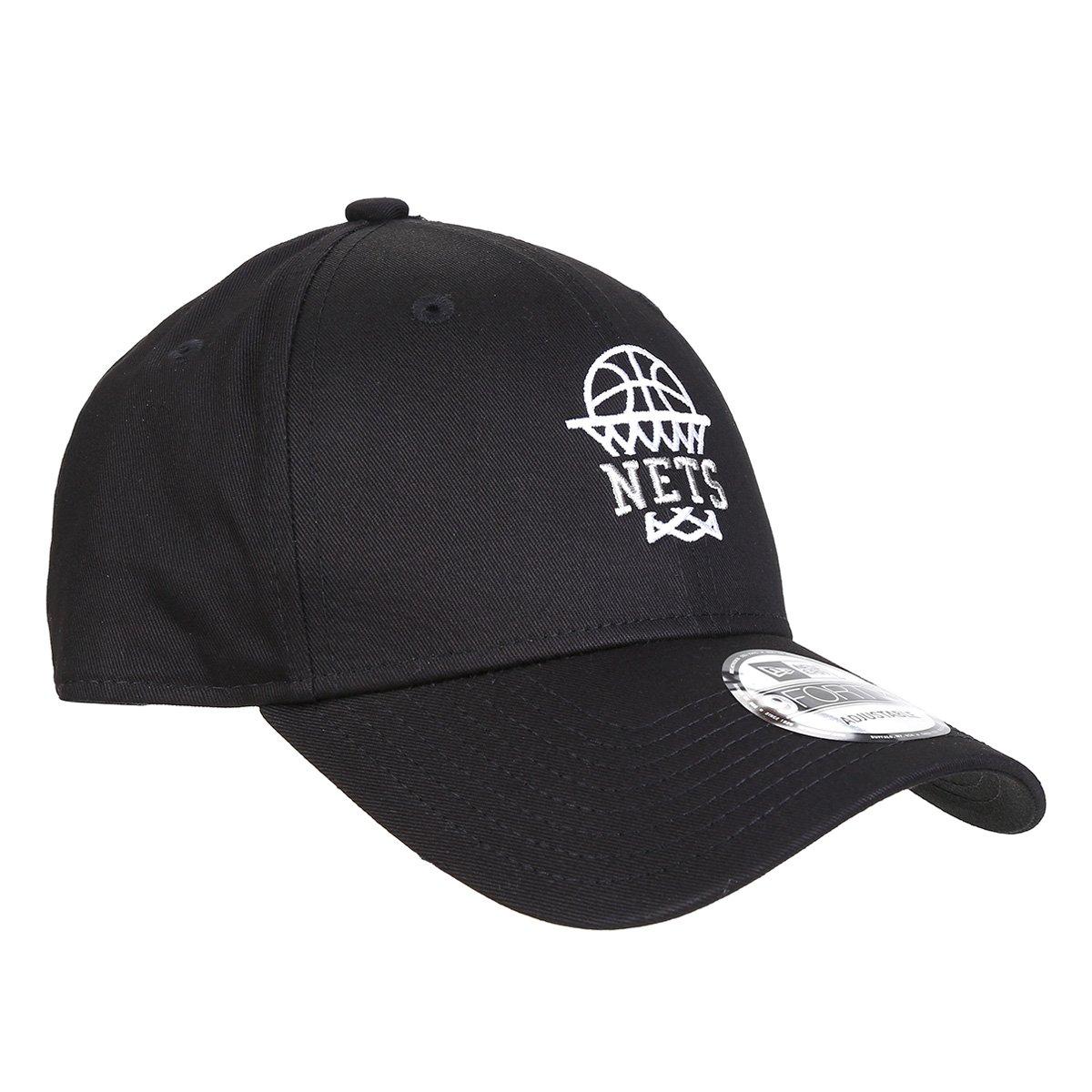 Boné New Era Aba Curva Brooklyn Nets 940
