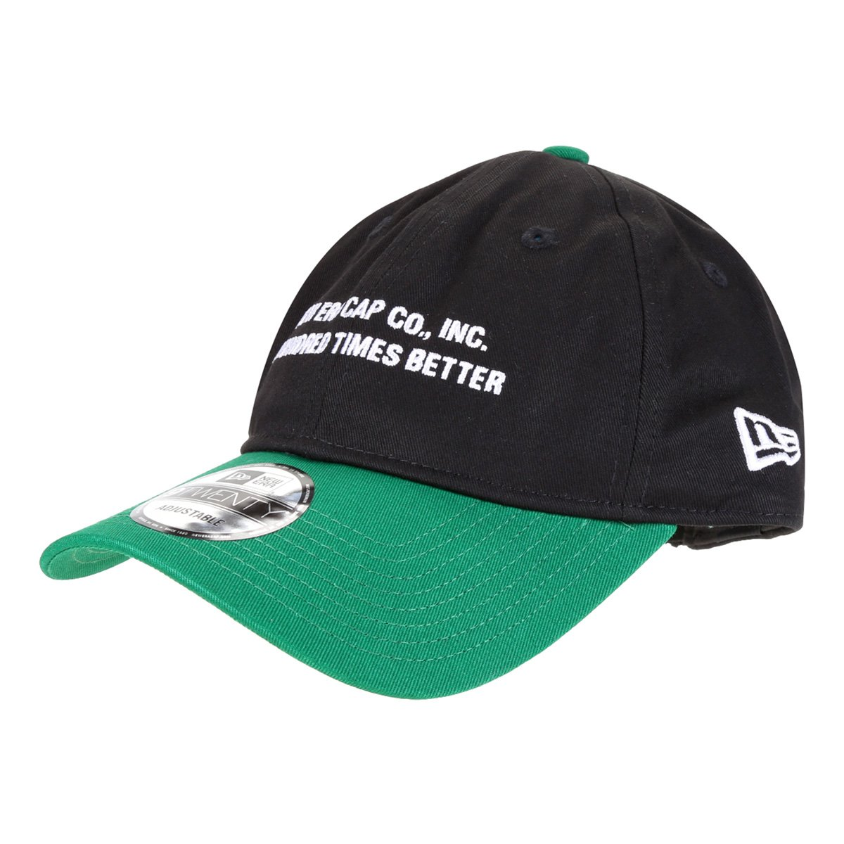 Boné New Era Aba Curva Strapback 920 Uni In SP 2 Colors Branded