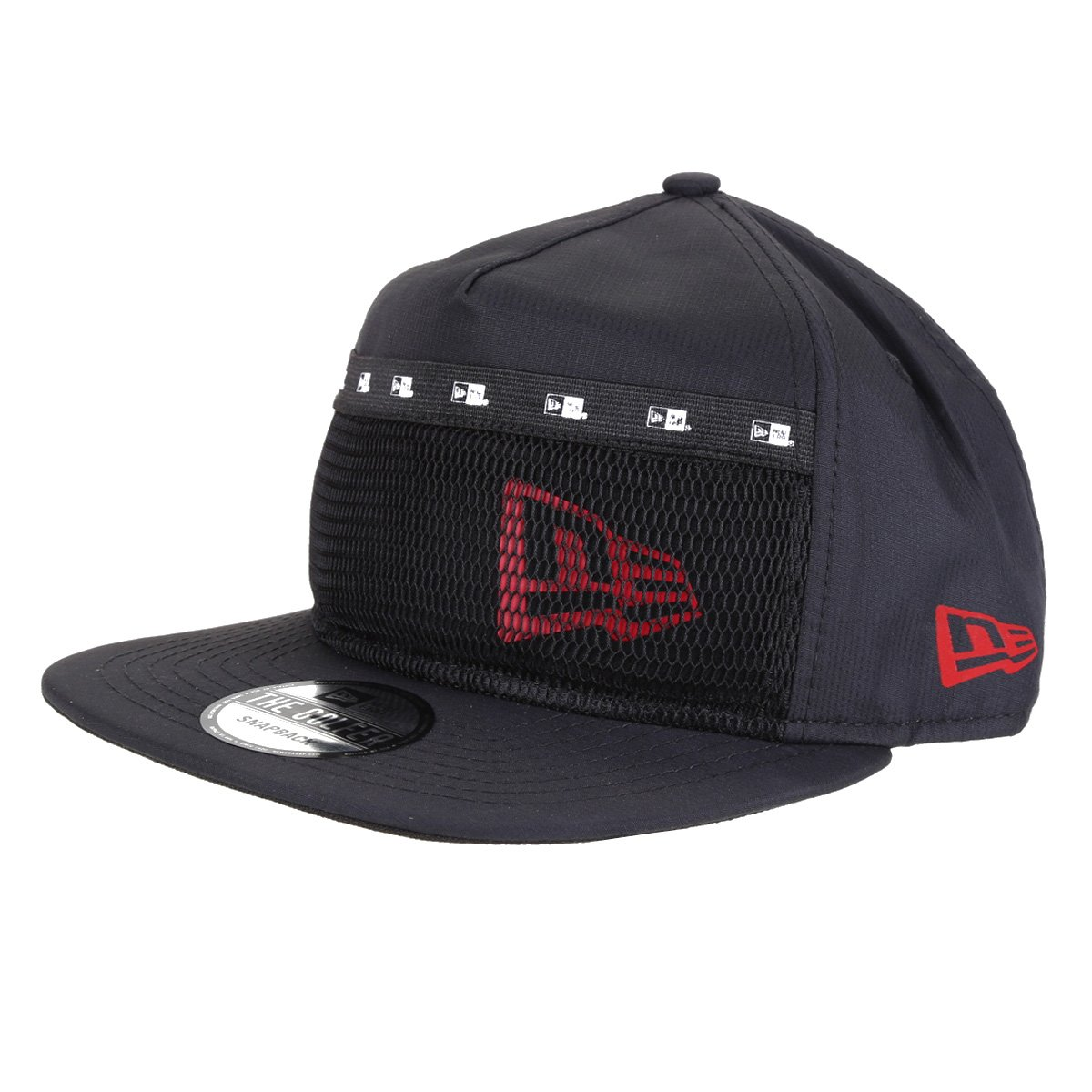 Boné New Era Aba Reta Snapback Utilitary Pocket Flag