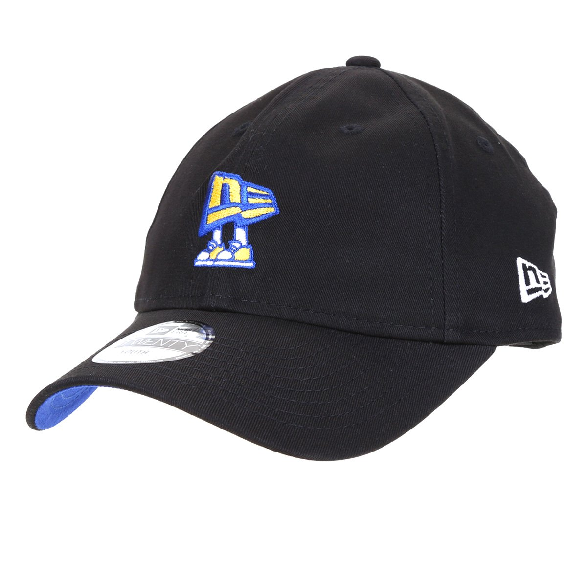Boné Infantil New Era Aba Curva Strapback 920 St Youth Core Flag Alive Blk