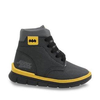 585ab97e04a Bota Coturno Infantil Grendene Batman Masculina
