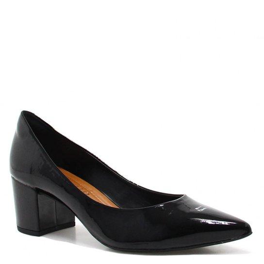 bae57df331 Sapato Cecconello Scarpin Verniz - Preto - Compre Agora