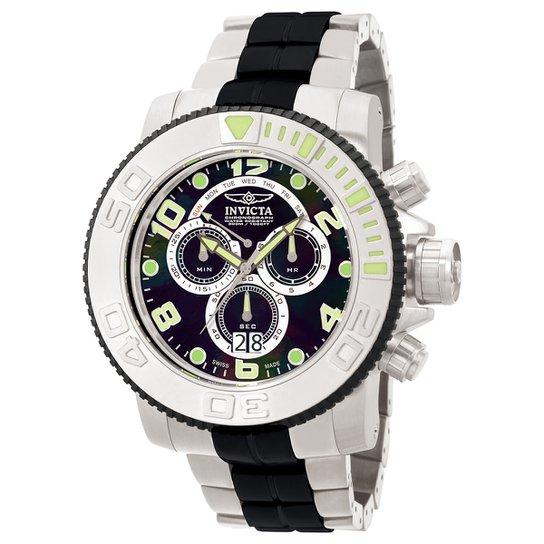 83d40486e0d Relógio Invicta Analógico Cronógrafo 10766 Masculino - Preto ...