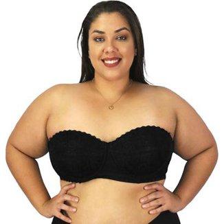 801db81a9 Sutiã Reforçado Mondress · Confira · Sutiã Plus Size Nayane Rodrigues  Tomara que Caia Renda Feminino