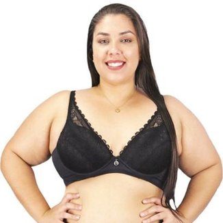 bd9a2da43 Sutiã Plus Size Em Renda - Sutiã Com Bojo Da Marca Nayane Rodrigues