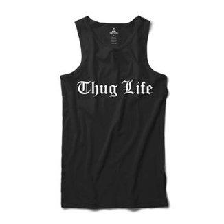 Camiseta Skill Head Regata Thug Life Masculina a7799f8746c