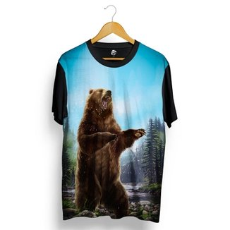 ff410882cc018 Camiseta BSC Urso Louco Full Print