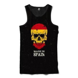 Regata BSC Caveira País Espanha Sublimada Masculina a10ab299e25