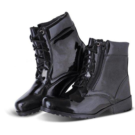 3bd955be6d Bota Sapato Flex Zíper Lateral Feminina - Compre Agora
