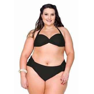 50a597216 Biquini Maré Brasil Liso Plus Size