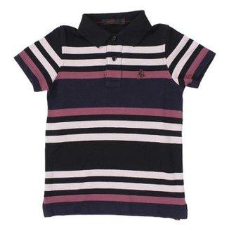 8a271a1387 Camisa Polo Infantil Tassa Listrada Masculina