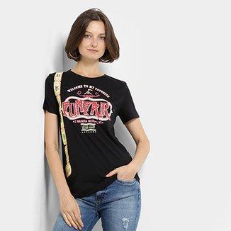 6c5e60c6522d Camiseta My Favorite Thing(s) Estampada Feminina