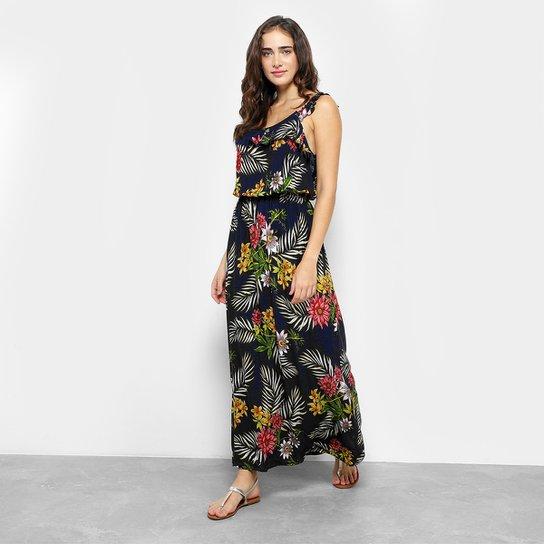 d2faadfbefba1 Vestido Longo Estampado Floral Royallove Feminino - Compre Agora ...