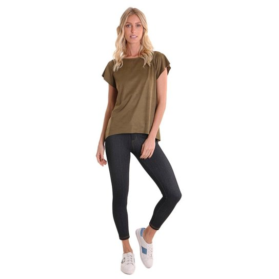 Calça Legging Jeans Costa Rica - Compre Agora  c243b3bdff1