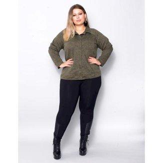 dee8a9cabe Calça Legging Plus Size Palank Nice Feminina
