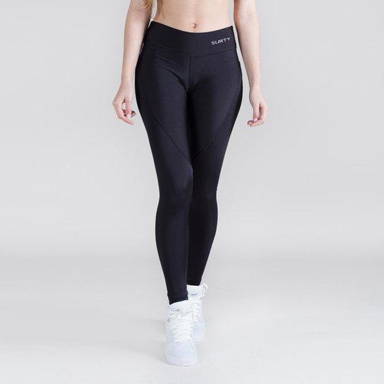 Calça Legging Surty Wish Feminina - Preto - Compre Agora  da9a68a628a43