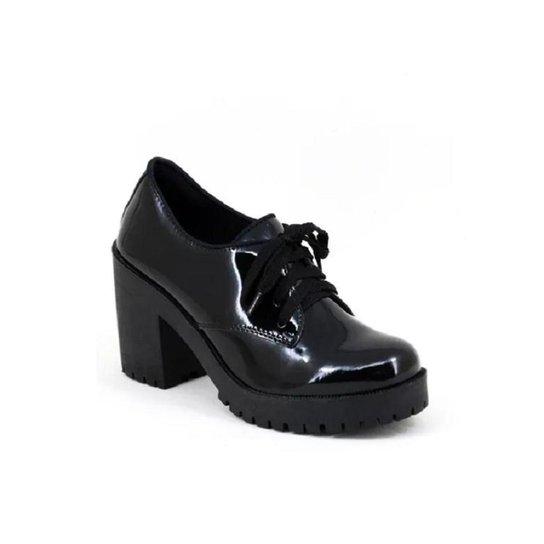 72e288e87 Oxford Tratorado Verniz World Boot Feminino - Preto - Compre Agora ...