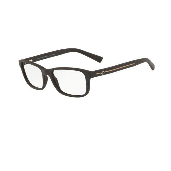 Armação Óculos Armani Exchange AX 3021L 8062 - Preto - Compre Agora ... 5a017ea1a86