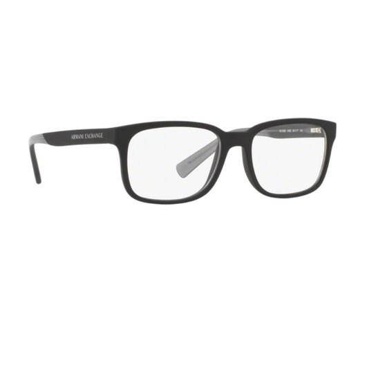 17c4f79c2 Armação Óculos Armani Exchange AX 3029L 8182 - Preto   Zattini