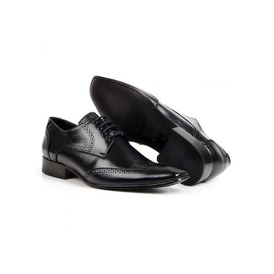 6228a50a48f96 Sapato Oxford em Couro Bigioni Classic com Cadarço Masculino   Zattini