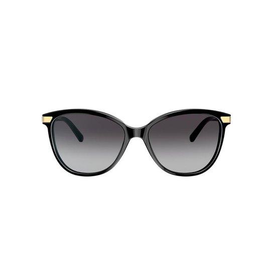 805f1d3a3ec20 Óculos de Sol Burberry Gatinho BE4216 Feminino - Preto - Compre ...