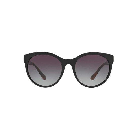 a3edcc5bd Óculos de Sol Burberry Redondo BE4236 Feminino - Preto | Zattini