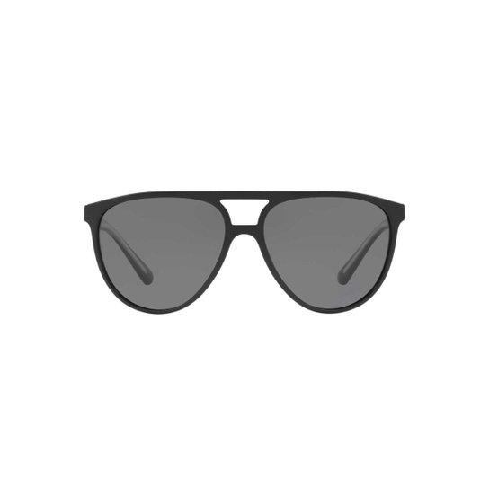 d709fbba9f714 Óculos de Sol Burberry Piloto BE4254 Masculino - Preto - Compre ...