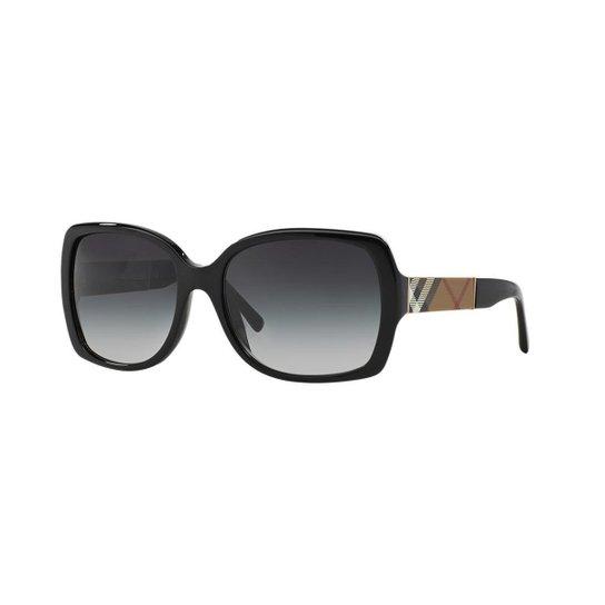 9b367689ae396 Óculos de Sol Burberry BE4160 - Preto - Compre Agora