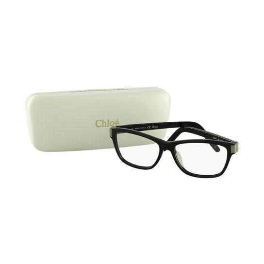 Óculos de Grau CHLOÉ Casual - Preto - Compre Agora   Zattini 1354d7ab0a